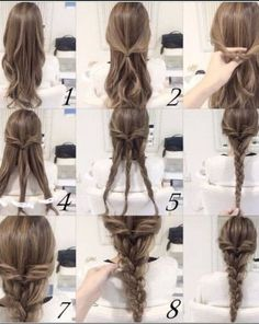 Imagen de braiding, hair, and tips