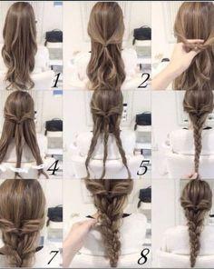 Imagen de braiding, hair, and tips