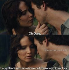 The Hunger Games – Catching Fire – Katniss Everdeen – Jennifer Lawrence - Gale - Liam Hemsworth - Frozen & Hunger Games mix. Hunger Games Memes, Hunger Games Fandom, Hunger Games Catching Fire, Hunger Games Trilogy, Katniss Everdeen, I Volunteer As Tribute, Haha, Jenifer Lawrence, Gale Hawthorne