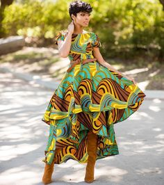 get the latest and most trendy Ankara Styles of the this year 2019 that will inspire you this new month . African Fashion Designers, African Inspired Fashion, African Print Fashion, Africa Fashion, Ethnic Fashion, Fashion Men, Fashion Outfits, High Fashion, Casual Outfits