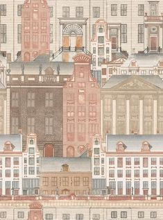 Amsterdam Wallpaper by Mindthegap