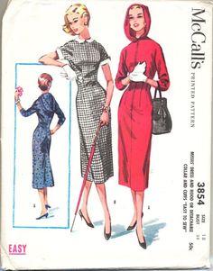McCALL'S 3854 (1956)