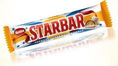 Marabou, Starbar: undrar om det är samma som Cadbury's? Lite crunch, seg och krämig, alltså mycket bra konsistens. Men var är jordnötterna? känner inte ett uns jordnötssmak... 2/5