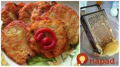 Výborné zemiakové placky, ktoré sú chrumkavé a držia aj bez múky či škrobu.