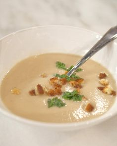 CAULIFLOWER SOUP http://www.marthastewart.com/343920/cauliflower-soup?czone=food/produce-guide-cnt/year-round-produce-recipes=276955=275272=256801