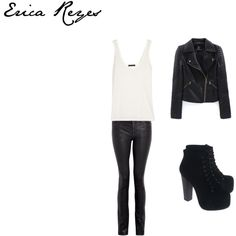 Erica Reyes-Teen Wolf by rebecca-fitzpatrick on Polyvore
