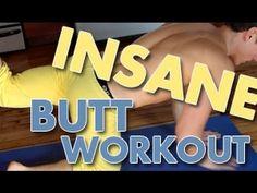 Insane 8 Minute Butt Workout! fitness