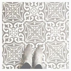 TILE DEALS / SAMPLES Tweeford Grey Moroccan Victorian Vintage Wall & Floor Tiles