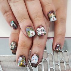 Woof! Nail Art for National Pet Day -  - NAILS Magazine