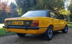 UK's rarest cars: 1978 Ford Cortina one of only two left on British roads Retro Cars, Vintage Cars, Classic Car Magazine, Ford Motorsport, Car Finder, Ford Rs, National Car, Van Car, Cars