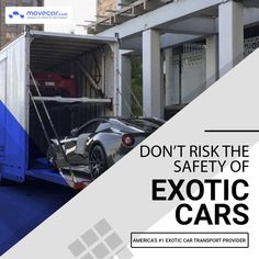 Move Car Exotic car transport is the most feasible way for transport of luxury and exotic cars. Dedicated compliance team at Move Car is always on duty to check the safety compliance of trucks used for luxury car. #ExoticCarShipping #ExoticCarTransport #InstantShipping #OnlineAutoDelivery #movecar #CarShippingCost #autotransportcarriers #autotransport #carshipping Move Car, Exotic Cars, Luxury Cars, Transportation, Safety, Trucks, Ship, Check, Fancy Cars