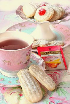 Dolci a go go: Tea Time-Biscotti di Vienna