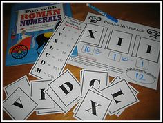 Adapt this free download for adding and subtracting roman numerals into a game.