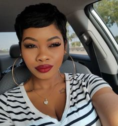 20 African American Short Pixie Haircuts 2018 - Pixie Hairstyles ...