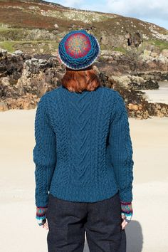 Malin and Wave patterncard knitwear designs by Alice Starmore in pure wool Hebridean 2 Ply and Bainin hand knitting yarn Shipping Forecast, Hand Knitting Yarn, Crashing Waves, Card Patterns, 2 Ply, Knitwear, Alice, Coast, Men Sweater