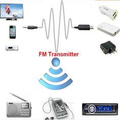 New Protable FM Transmitters Wireless Car Mp3 Player FM Modulator Black For Auto Audio Television Computer DVD iPhone Mobile ** Boleye podrobnuyu informatsiyu mozhno nayti na URL izobrazheniya.