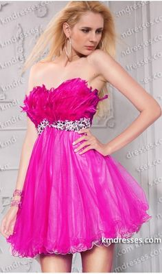 Super cute Beaded strapless sweetheart low-back empire waist feather dress.prom dresses,formal dresses,ball gown,homecoming dresses,party dress,evening dresses,sequin dresses,cocktail dresses,graduation dresses,formal gowns,prom gown,evening gown