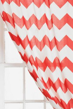 Zigzag Curtain #urbanoutfitters
