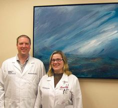 St. Joseph Hospital East invests in the healing power of local art   Recently at St. Joseph Hospital East, newly installed art is bringing health and healing to a lot of patients. Dr. Don Goodin, an oncologist at the hospital, encouraged it to try this healing-arts approach in a big way and found great support for the idea.