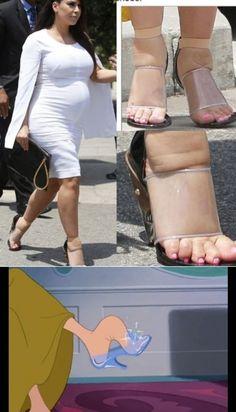 Cinderella vs Kim - funny pictures - funny photos - funny images - funny pics - funny quotes - funny animals @ humor