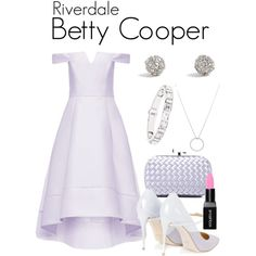 Betty Cooper Style, Betty Cooper Outfits, Riverdale Set, Riverdale Halloween Costumes, Classy Outfits, Cute Outfits, Cheryl Blossom Riverdale, Riverdale Fashion, Banquet Dresses