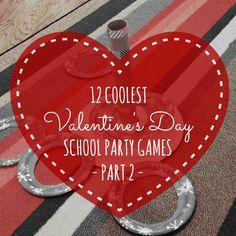 12 Coolest Valentine's Day School Party Games -- Part 2