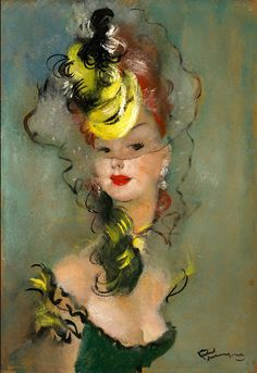 by  Jean Gabriel Domergue