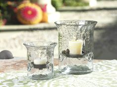 Artisan Hammered Hurricane #home #homedecor #artisan #decor #interiordecorating #decorating #outdoor #garden #candleholders #hurricanes #glass #iron http://www.carlyleavenue.com/collections/whats-new/products/artisan-hammered-hurricane