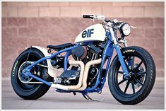 "DP Customs '95 Harley Sportster - ""del Rey"" - Pipeburn - Purveyors of Classic Motorcycles, Cafe Racers & Custom motorbikes"
