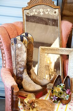 Vintage Cowgirl- love the colors, would work for the party and love that it isn't the classic red.
