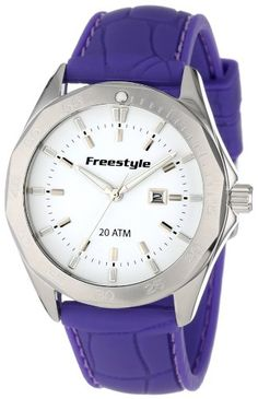 Men  Watches - Freestyle Unisex 101802 Avalon Analog White Dial White Strap Round Watch >>> Check out this great product. (This is an Amazon affiliate link)