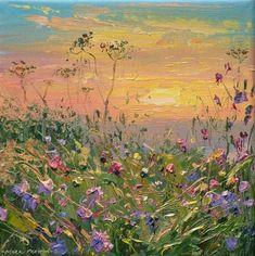 Mark PRESTON-Sunset, Bonsall Moor