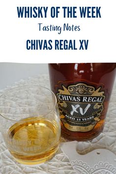 Review and tasting notes for the Chivas Regal XV Blended whisky Blended Whisky, Whisky Tasting, Malt Whisky, Notes, Jar, Food, Single Malt Whisky, Report Cards, Essen