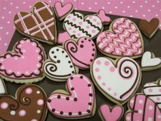 Valentine Cookie Gifts from cheriscookies.com