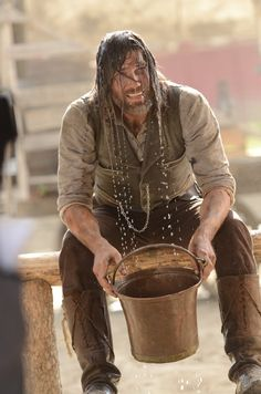 Still of Anson Mount in Hell on Wheels, hot! even dirty. Man Mount, Anson Mount, Hell On Wheels, Tough Guy, Dream Guy, Movies And Tv Shows, Sexy Men, Westerns, Tv Series