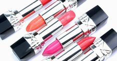 Dior Rouge Dior Lipsticks for Spring 2015: Review and Swatches Dior Lipstick, Lipsticks, Spring 2015, Swatch, Red, Lipstick, Vorlage