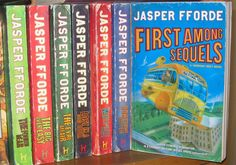 Thursday Next Series (I've read The Eyre Affair, Lost in a Good Book, The Well of Lost Plots, Something Rotten & Thursday Next) by Jasper Fforde.  Truly original and great fun. The author knows and loves literature, else he could not lampoon it so well. Read 2010, 4*s.