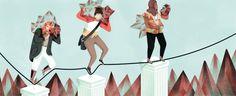 Mental Health for Trinity Magazine Illustration by Jeannie Phan