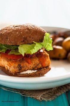 Buffalo Chicken Sliders (Gluten Free, Vegan Option) via Dairy Free Recipes, Easy Healthy Recipes, Vegan Gluten Free, Vegan Recipes, Cooking Recipes, Healthy Food, Vegan Foods, Healthy Meals, How To Cook Tempeh
