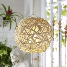 LED Willow Ball Pendant Light Pier1 Imports