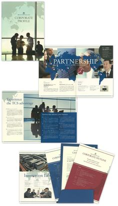 タタ コンサルタンシー サービシズ ジャパン株式会社様・会社案内 Corporate Brochure, Business Brochure, Corporate Design, Booklet Layout, Flyer Layout, Pamphlet Design, Booklet Design, Company Brochure Design, Magazine Layout Design