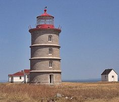 Île Rouge (Red Island) Lighthouse, Quebec Canada at ...