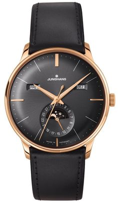 Junghans Watch Meister Calender Pre-Order #basel-15 #bezel-fixed #bracelet-strap-leather #brand-junghans #case-depth-12-2mm #case-material-rose-gold-pvd #case-width-40-4mm #date-yes #day-yes #delivery-timescale-call-us #dial-colour-grey #gender-mens #luxury #moon-phase-yes #movement-automatic #new-product-yes #official-stockist-for-junghans-watches #packaging-junghans-watch-packaging #pre-order #pre-order-date-30-07-2015 #preorder-july #style-dress #subcat-meister…