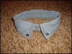 DIY Jeans Collar