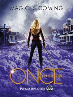 Poster de la Segunda Temporada de #OnceUponaTime Magic is Coming =)