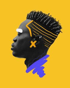 Vibrant Graphic Art by Temi Coker – AFRICAN DIGITAL ART