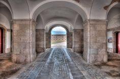 Archway in Sant Ferran Castle by Sebastian Kruk on 500px