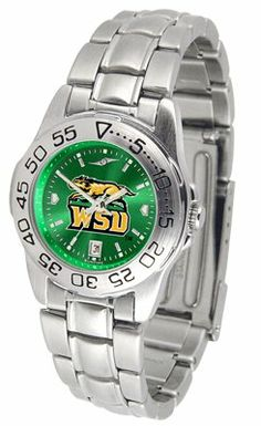 Wright State University Raiders Sport Steel Band Ano-chrome - Ladies - Women's College Watches by Sports Memorabilia. $59.95. Makes a Great Gift!. Wright State University Raiders Sport Steel Band Ano-chrome - Ladies