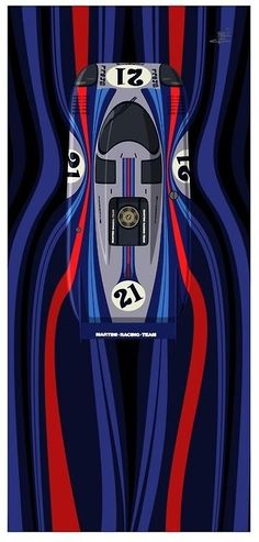 The Porsche 911 is a truly a race car you can drive on the street. It's distinctive Porsche styling is backed up by incredible race car performance. Le Mans, Auto Poster, Car Posters, Vintage Racing, Vintage Cars, Sport Cars, Race Cars, Martini Racing, Car Illustration