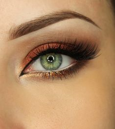 This 'Autumn is Coming' look by AlicjaJ Make Up features Makeup Geek Eyeshadows in Bada Bing, Corrupt, Latte, Mocha, and Roulette.